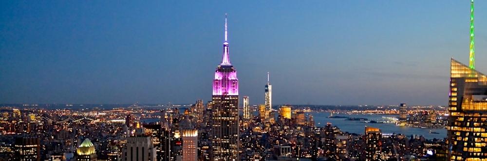 Lichter von Manhattan / New York City / Mai 2014
