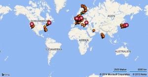 Die Welt in meinen Augen:  118 bereiste Städte, 21 bereiste Länder, viel ist noch zu entdecken (Stand: Juni 2014)