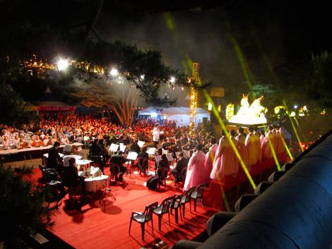 Großes Konzert zu Buddhas Geburtstag, Beomeosa, Südkorea