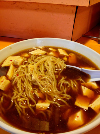 Tofu-Ramen-Suppe in Shibu-Onsen