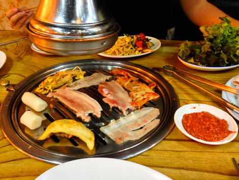 Koreanisches Barbecue, Seoul