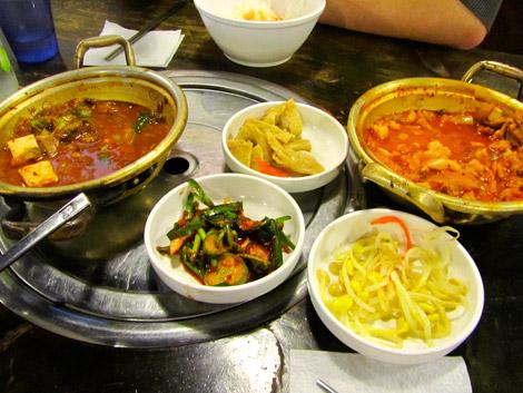 Scharfer Eintopf und mehr, Seoul