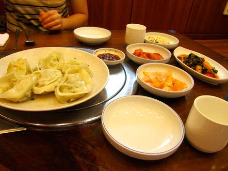 Koreanisches Teigtaschen, Seoul