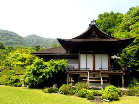 Die Villa des Filmstars in Kyoto