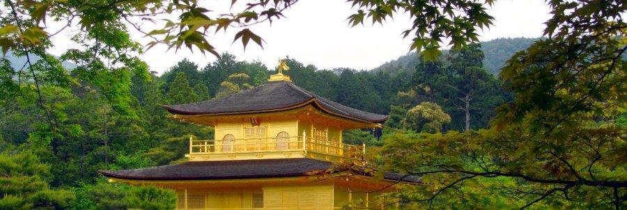 Das Goldene Haus in Kyoto