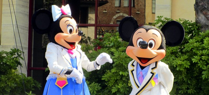 Minnie Mouse und Mickey Mouse