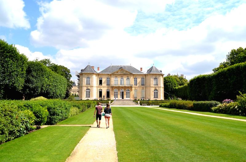 Paris-Impressionen: das hübsche Palais des Bildhauers Rodin