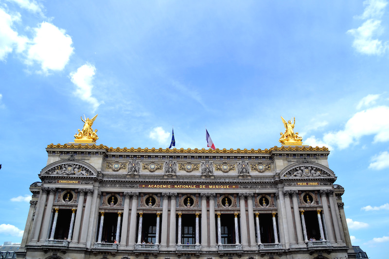 Paris-Impressionen: die prächtige Opera Garnier