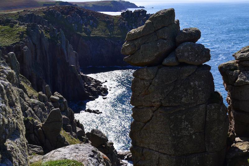 Die Felsenküste von Land's End, Cornwall
