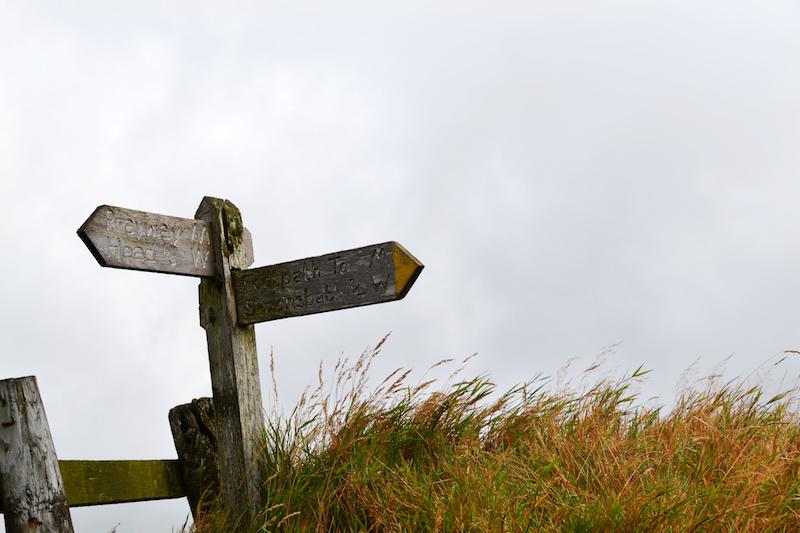 Verlorene Wege im Exmoor Nationalpark