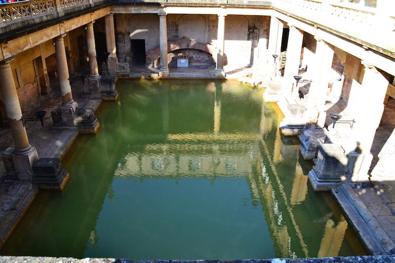 Das Badebecken des römischen Bades von Bath