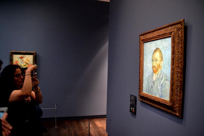 Fotoobjekt: Van Gogh - einer der vielen großartigen Künstler im Musée d'Orsay