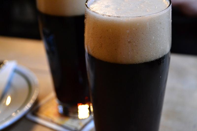 Rauchbier in der vielen Brauereien von Bamberg