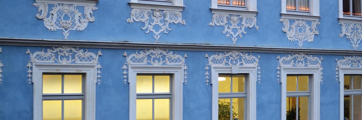 Hübsche Fassaden: Die barocken Häuser in Bamberg sind ausgesprochen schön