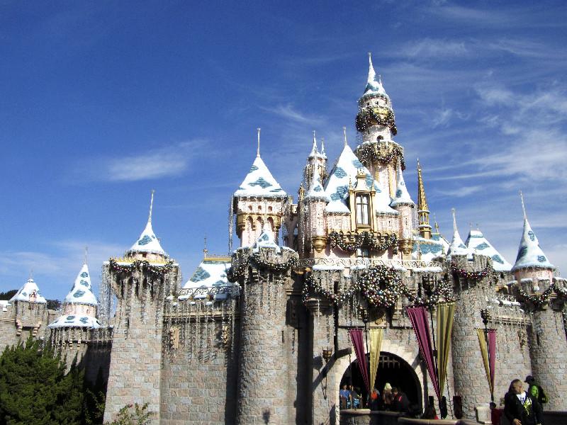 Das Schloss in Disneyland