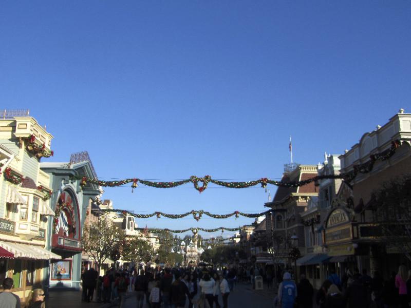 Die Main Street in Disneyland