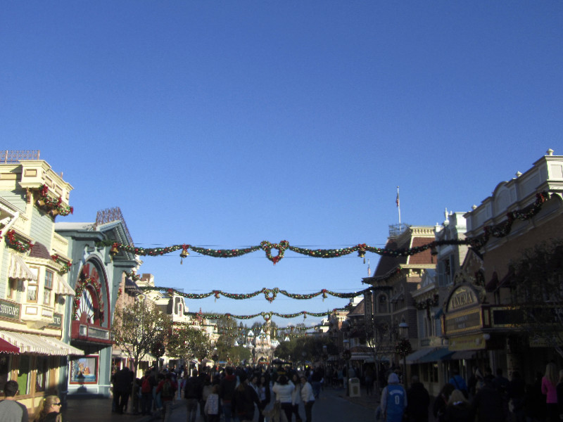 Die Main Street in Disneyland