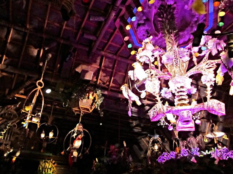 Der Tiki-Room in Disneyland
