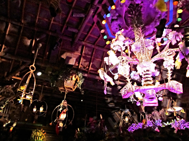 Der Tiki-Room in Disneyland