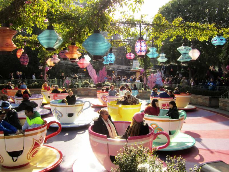 Disneylands Teetassen