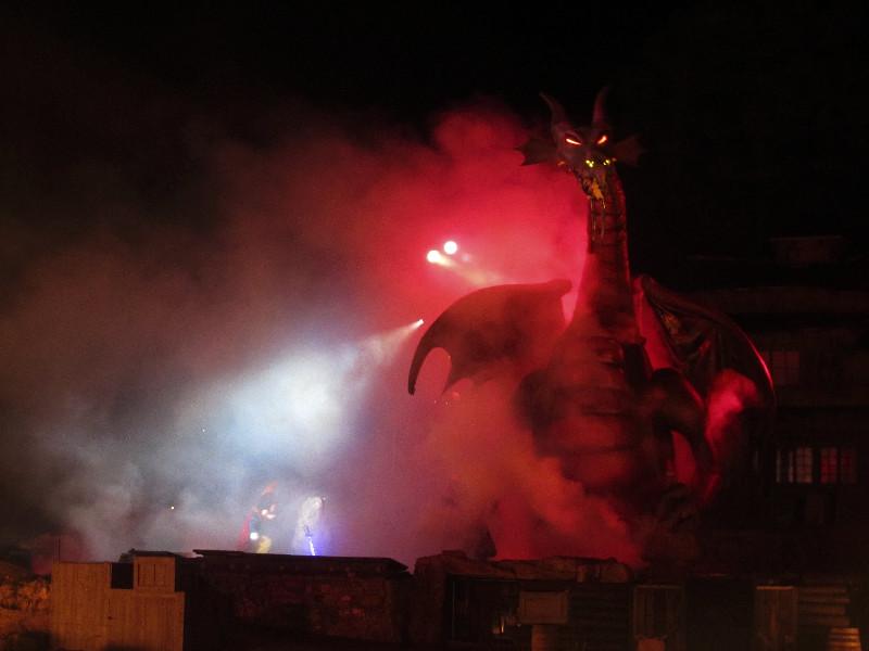 Fantasmic in Disneyland