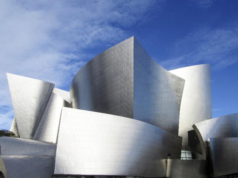 Die Walt Disney Concert Hall in Los Angeles