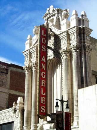 Altes Theater am Broadway von Los Angeles