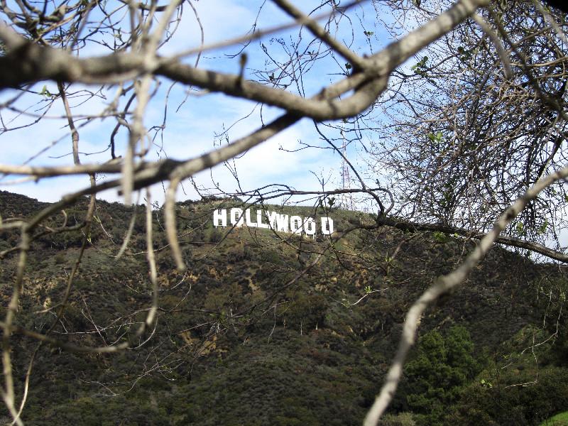 Der Hollywood-Schriftzug, Los Angeles