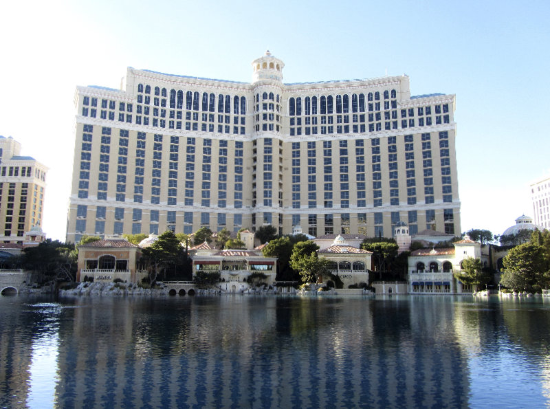 Das Bellagio in Las Vegas