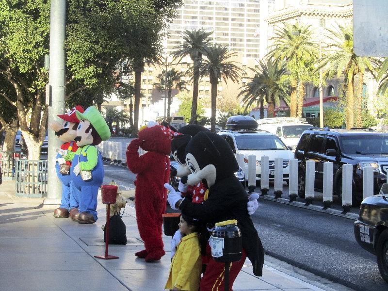Arme Seelen auf dem Las Vegas Boulevard