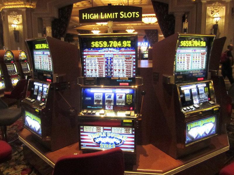 Slot Machines im Mandalay Bay Casino, Las Vegas