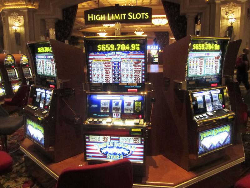 Slot Machines im Mandalay Bay Casino, Las Vegas