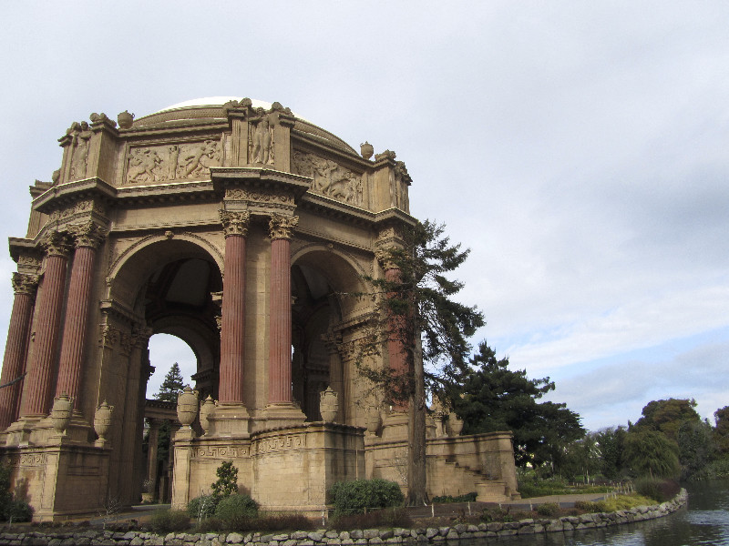 Der Palace of Fine Arts in San Francisco