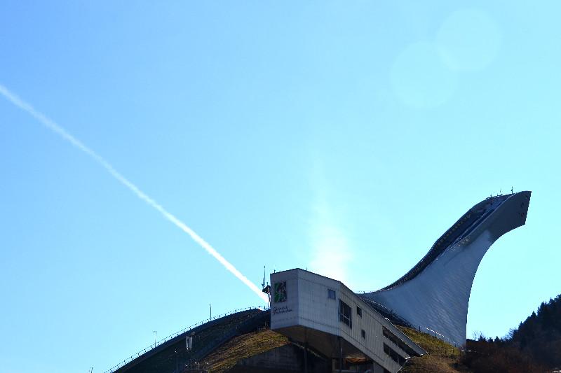 Skisprungschanze in Garmisch-Partenkirchen
