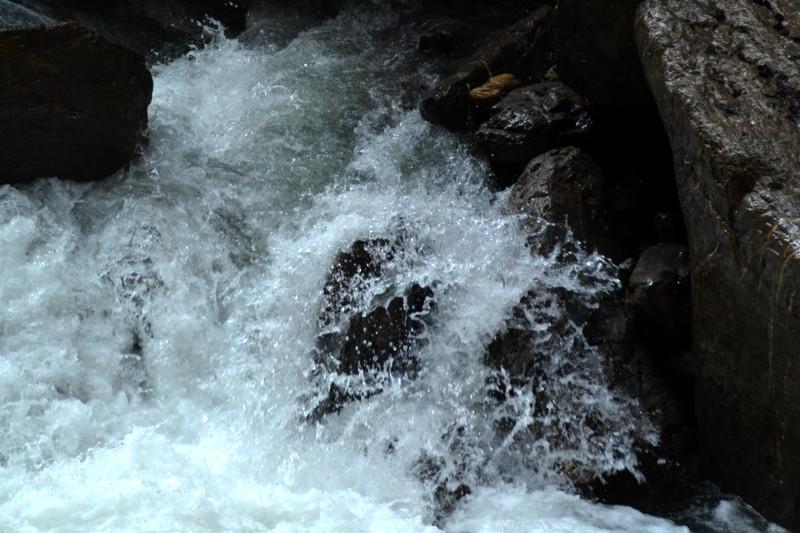 Wildes Wasser in der Partnachklamm