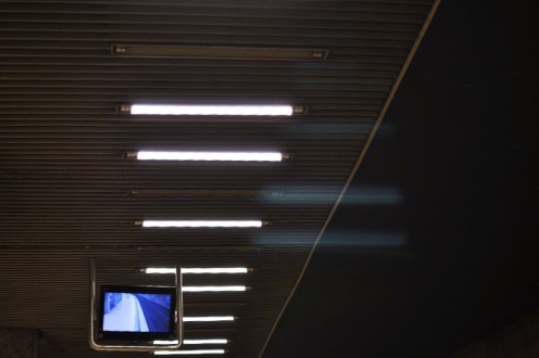 Fototour entlang der Münchner U3: Decke am Bonner Platz