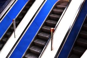 3-fach-Rolltreppe, U-Bahn-Halt Marienplatz
