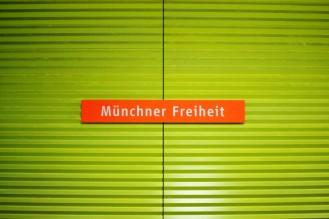 U-Bahn-Halt Münchner Freiheit