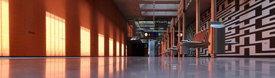 Fototour entlang der Münchner U3: Sonnenlicht in Oberwiesenfeld