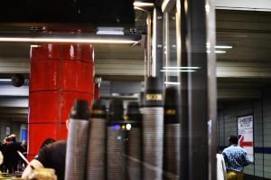 Kaffeebecher, U-Bahn-Halt Odeonsplatz