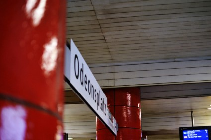 Eintönig: U-Bahn-Halt Odeonsplatz