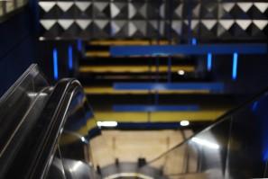 Fototour entlang der Münchner U3: Rolltreppe am Olympia-Einkaufszentrum