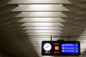 Fototour entlang der Münchner U3: Info-Tafel am Olympiazentrum