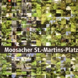 Fototour entlang der Münchner U3: Fotowand am Moosacher St.-Martins-Platz