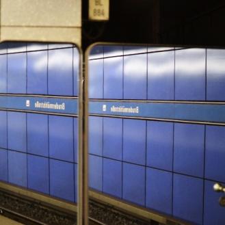 U3 in München: Brudermühlstraße Spiegel