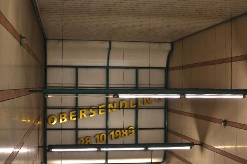 U3 in München: Obersendling Datum