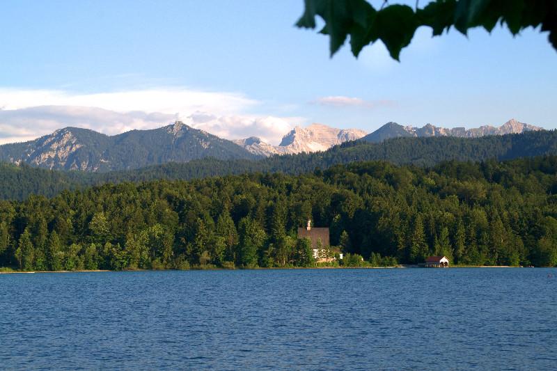 Walchensee-Panorama