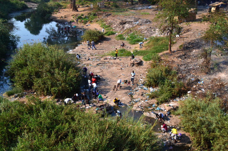 In Lilongwe, Malawi
