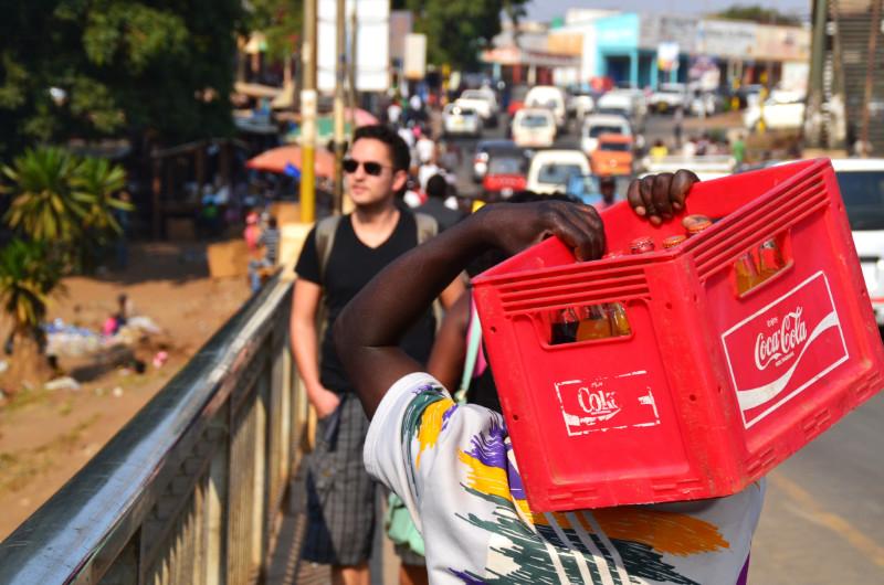 Lilongwe, Malawi, Cola-Kasten