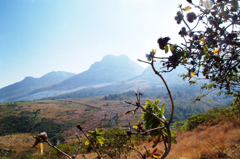 Jenseits von Afrika: die Plateau-Landschaft von Mulanje, Malawi
